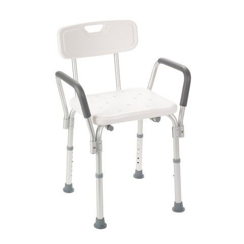 Bath Bench With Padded Arms And Backrest Bath Bench Shower