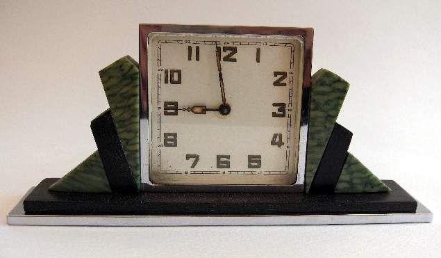 Classic Art Deco clock