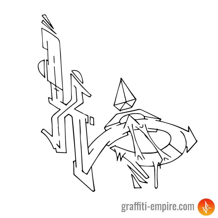 Graffiti Letter X Inspirational Images And Tutorial Graffiti Empire Graffiti Lettering Graffiti Lettering Fonts Graffiti Lettering Alphabet