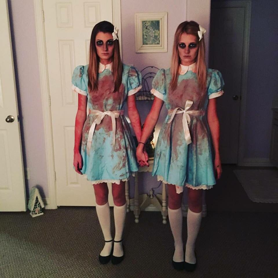 The Gibby Girls as The Grady Twins. BRILLIANT!!! Scary