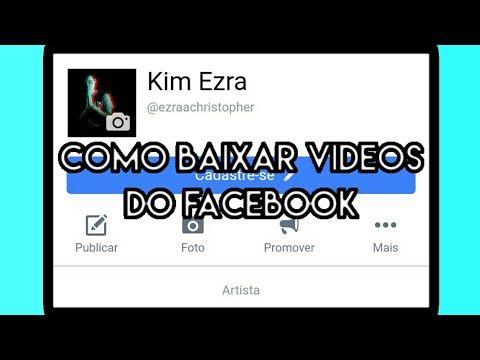baixar videos facebook