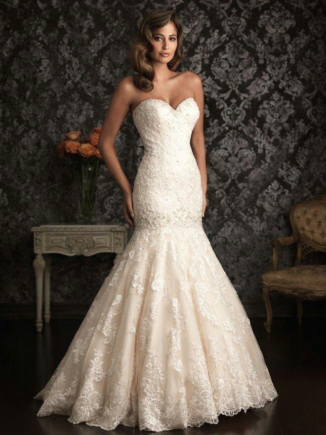 Vestido de novia corte sirena 2015