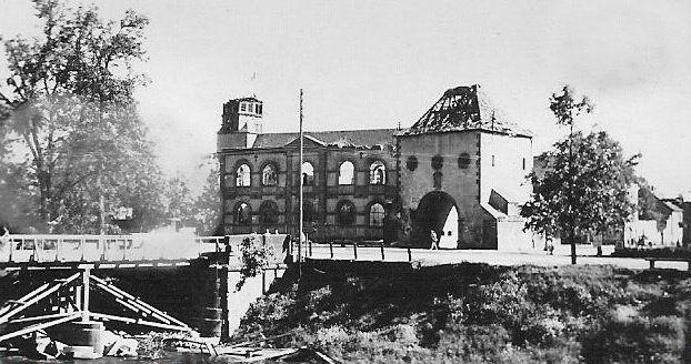 Haguenau Porte De Wissembourg Guerre Mondiale Guerre Portes