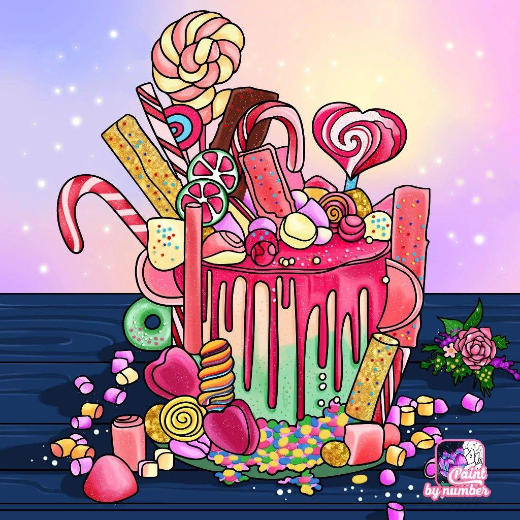 Pin by Arina Chervyak on раскраска | Colorful art ...
