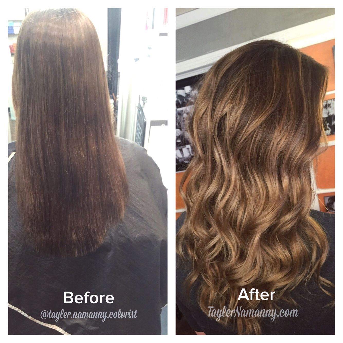 Balayage Brunette Hair Painting Dimensional Brunette Bronde Before And After By Tayler Namann Balayage Brunette Brunette Balayage Hair Brunette Hair Color