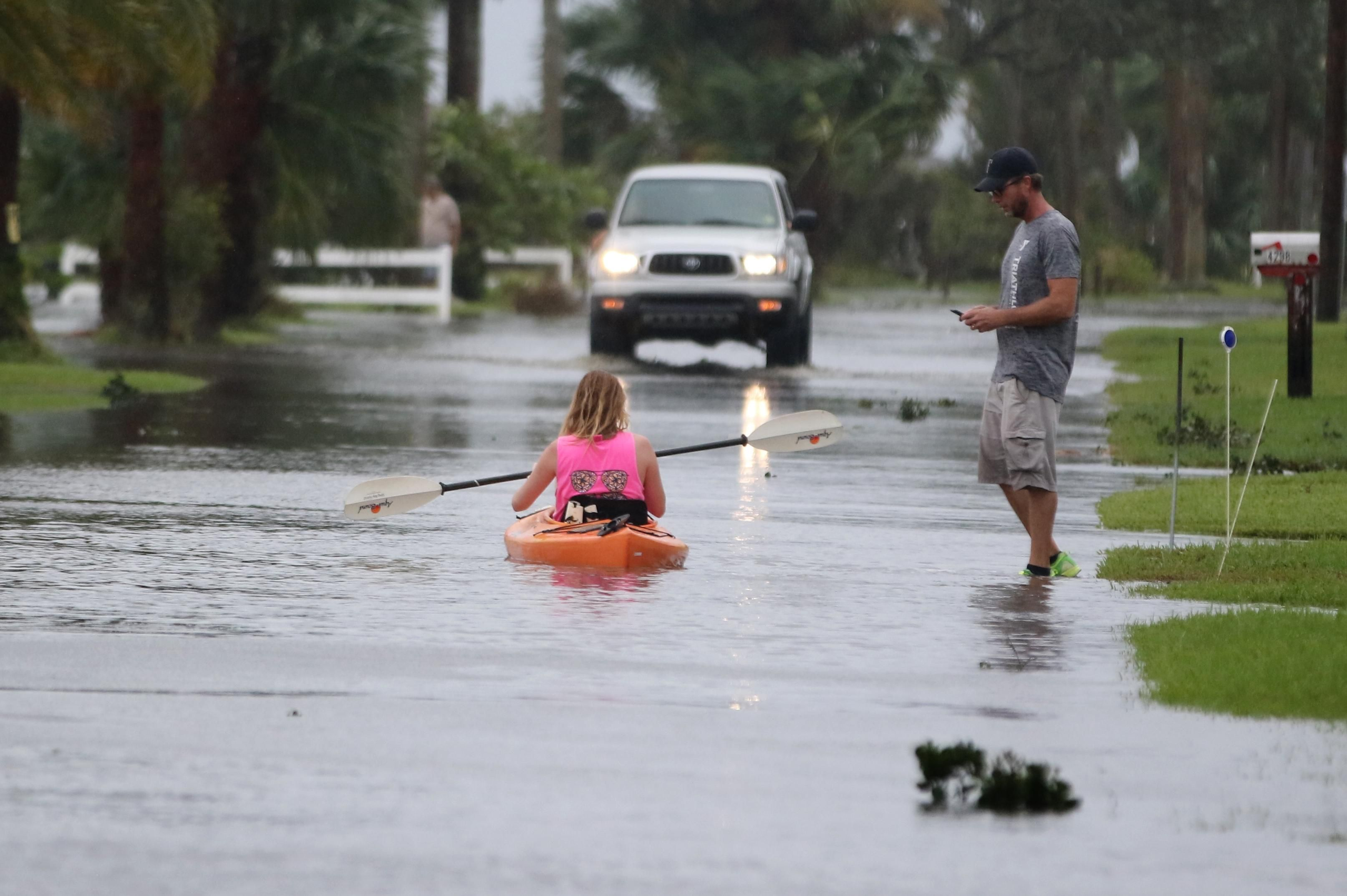 Port Orange Hurricane Matthew Brought Water Over The Banks Of The Halifax River On Friday Flooding Parts Of Riverside Hurricane Matthew Flooded Roads Flood