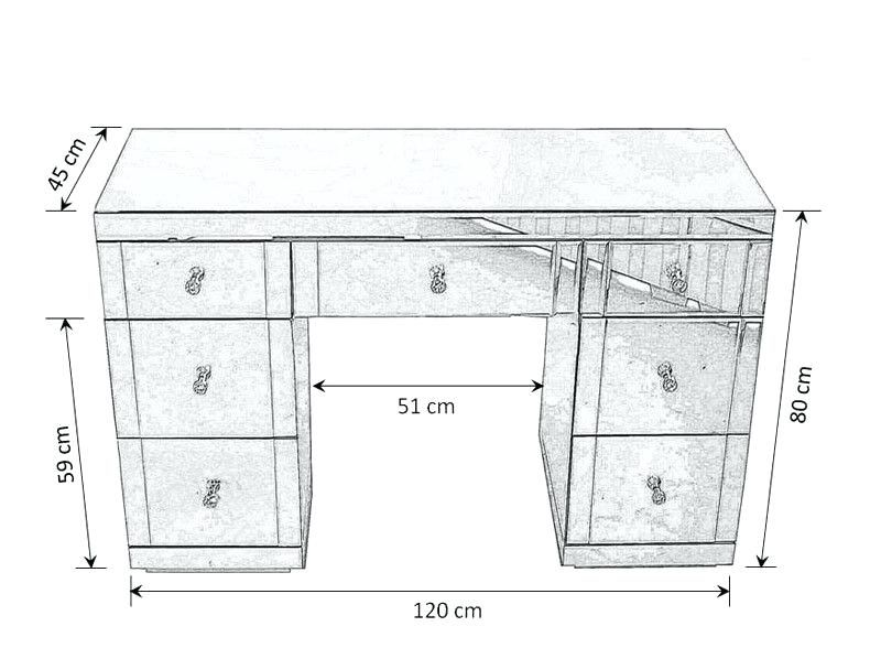 Makeup Vanity Dimensions Dressing Table Measurements Google Search