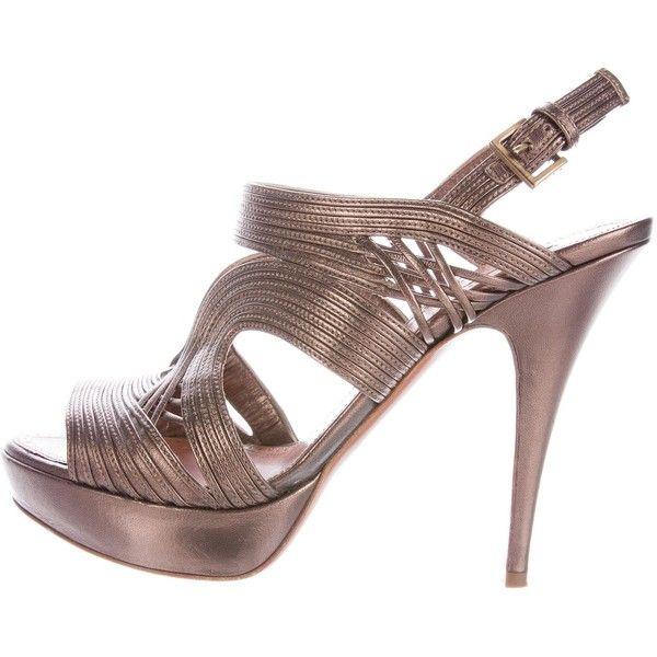 Ala?a Leather Sandal BUf3bQ
