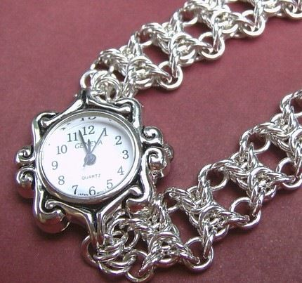 Chain Maille Patterns | Custom chain maille and loop-in-loop jewelry from stainless steel to ...