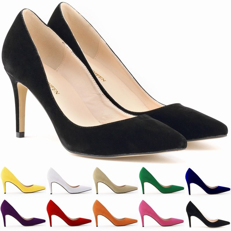 Find More Women's Pumps Information about New Fashion 11 Colors Hot Womens Faux Velve Party Platform Pumps High Heels Sexy Party Shoes Big Size US 4 11 D0057,High Quality Women's Pumps from Online Love Living Trade Co., LTD on Aliexpress.com