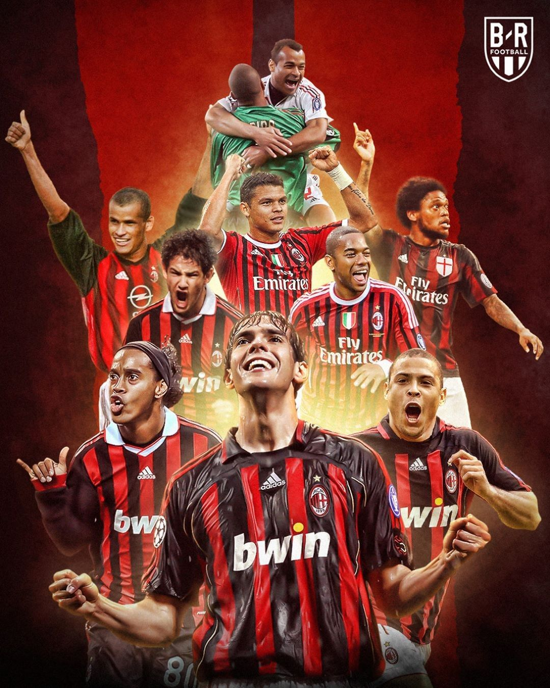 Ac Milan X Brazilians Milan Football Milan Wallpaper A C Milan