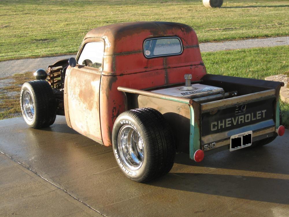 hot rods on s10 frames - Google Search | Bobber trucks | Pinterest ...