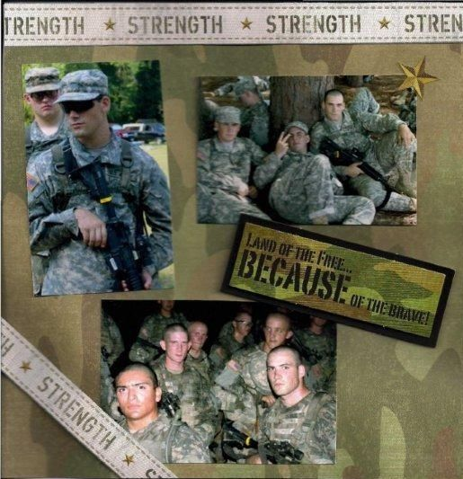Army Scrapbook Ideas Pictures Army Pinterest Scrapbook Army
