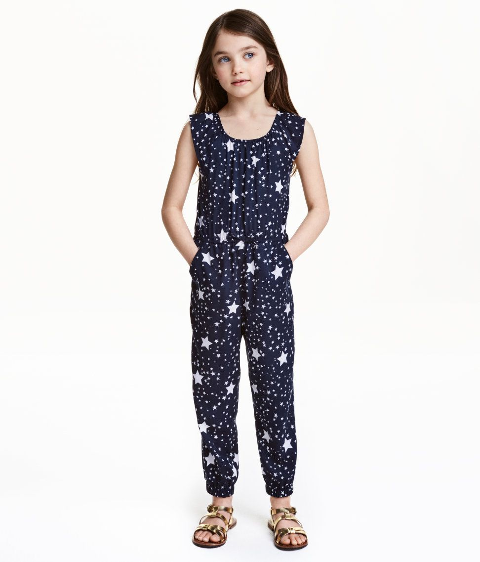 Patterned Jumpsuit | Hu0026M Kids | Hu0026M FOR THE KIDS | Pinterest | Kids Clothing Fashion Kids And ...
