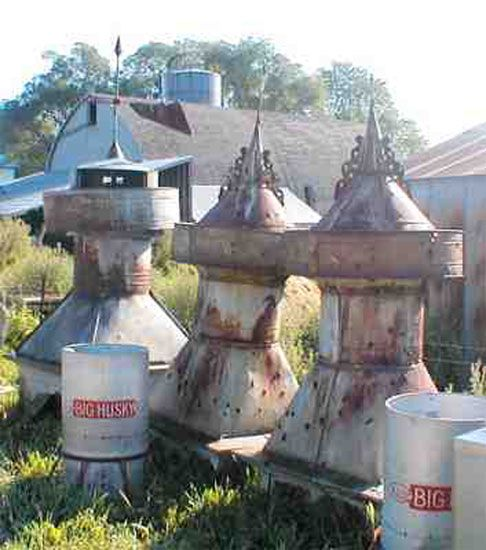 Relics From Old Barn Cupolas Got Two Big Ones In My