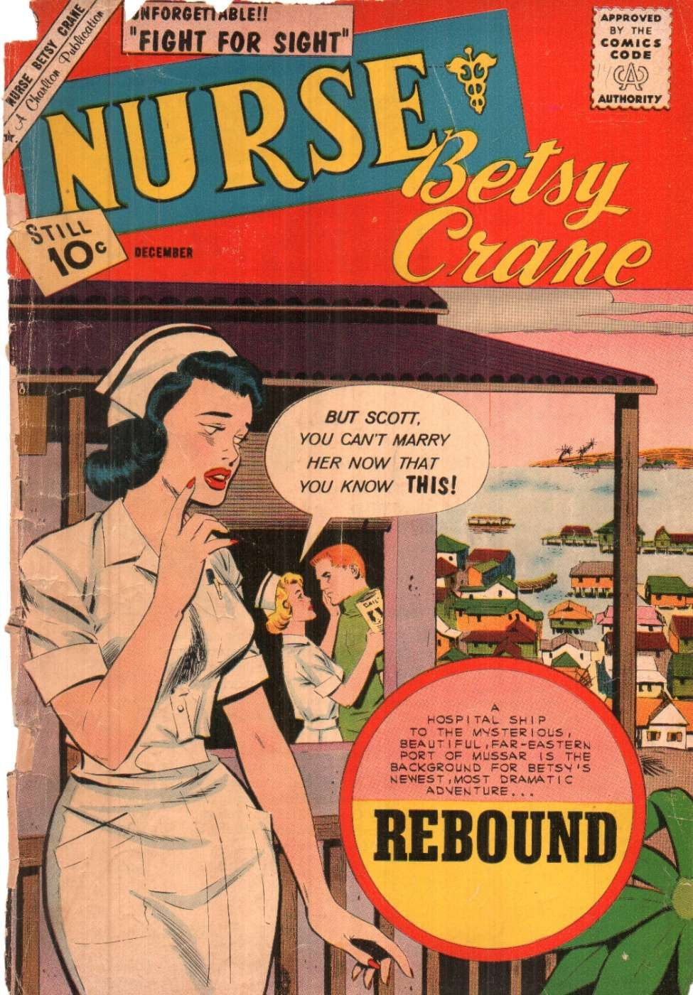 Nurses By The Book Nurse Betsy Crane Rebound Comic Charlton