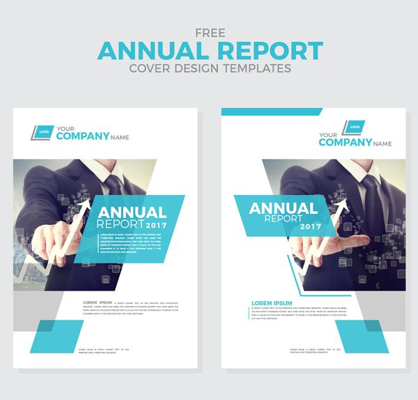 Free Annual Report Cover Design Templates  Free Psd Files