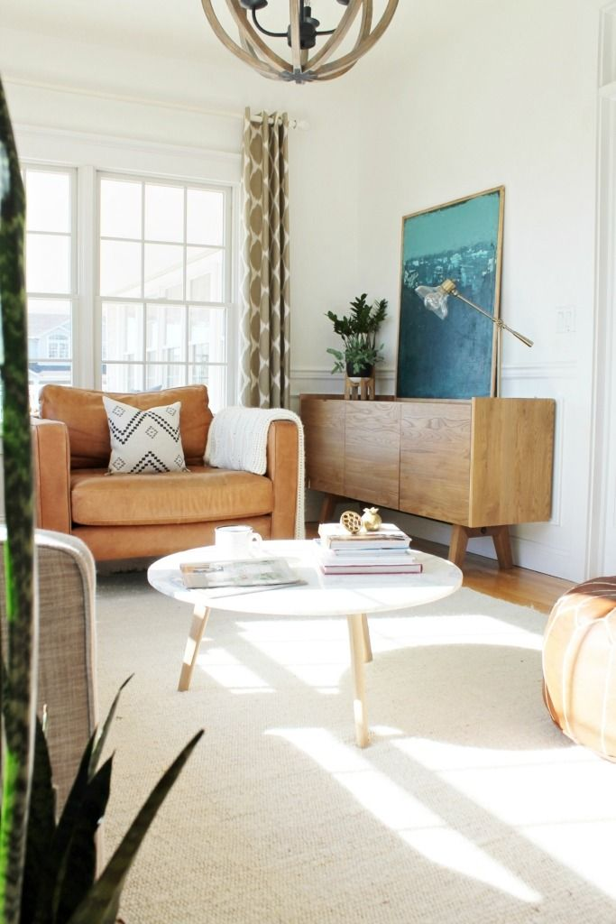 At First Glance, This Living Room Had Us At U201cmid Century Modern. Part 62