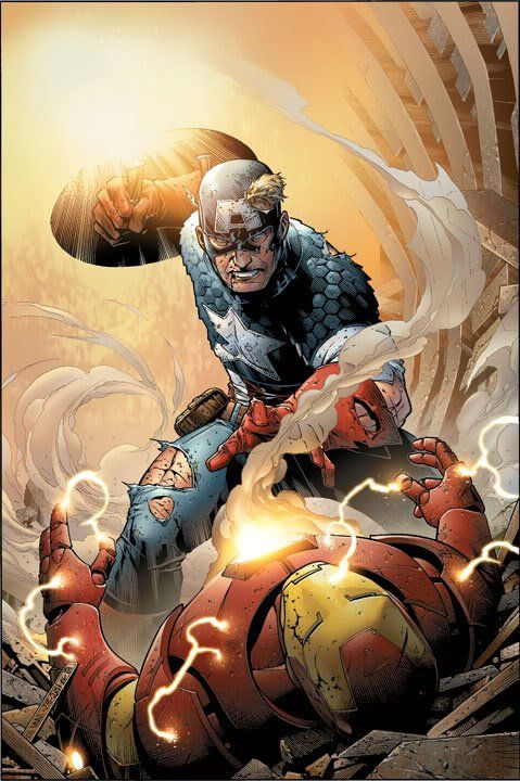 Iron Man And Captain America Iron Man Vs Captain America Marvel Comic Character Marvel Art