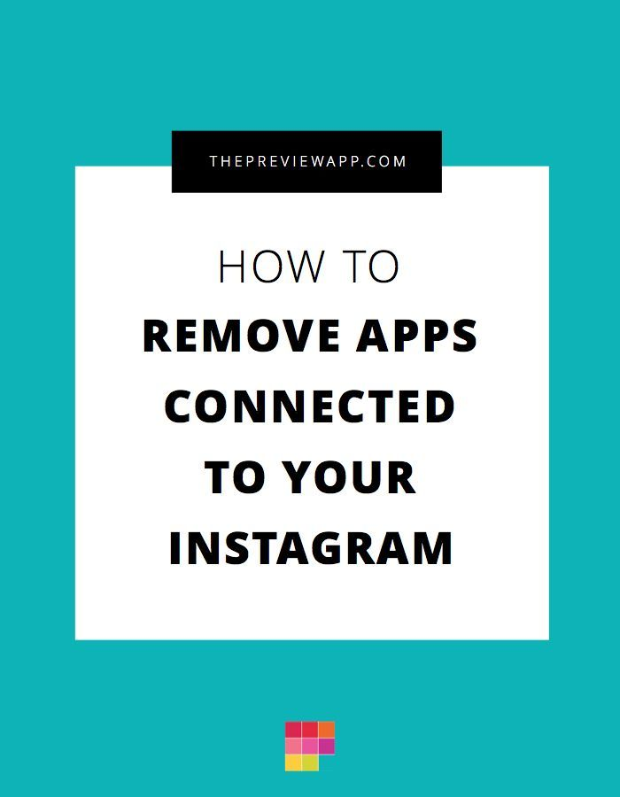 How to Remove Apps Connected to Your Instagram Account