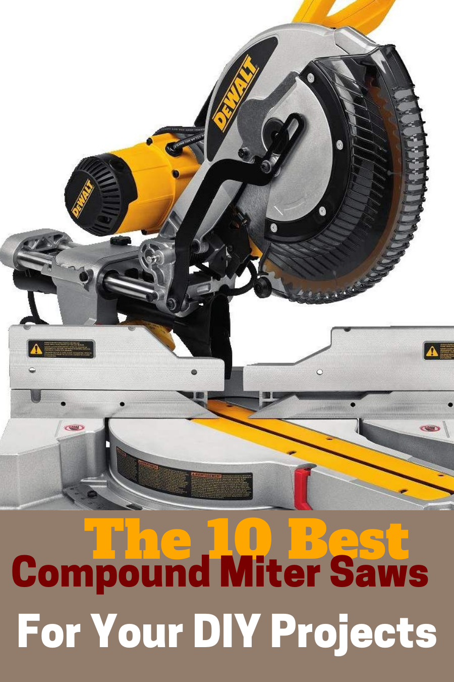 Top 10 Best Compound Miter Saw 2020 With Images Miter Saw Sliding Compound Miter Saw Mitered