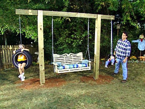 How To Hang A Tire Swing From A Tree Outdoor Oasis Backyard