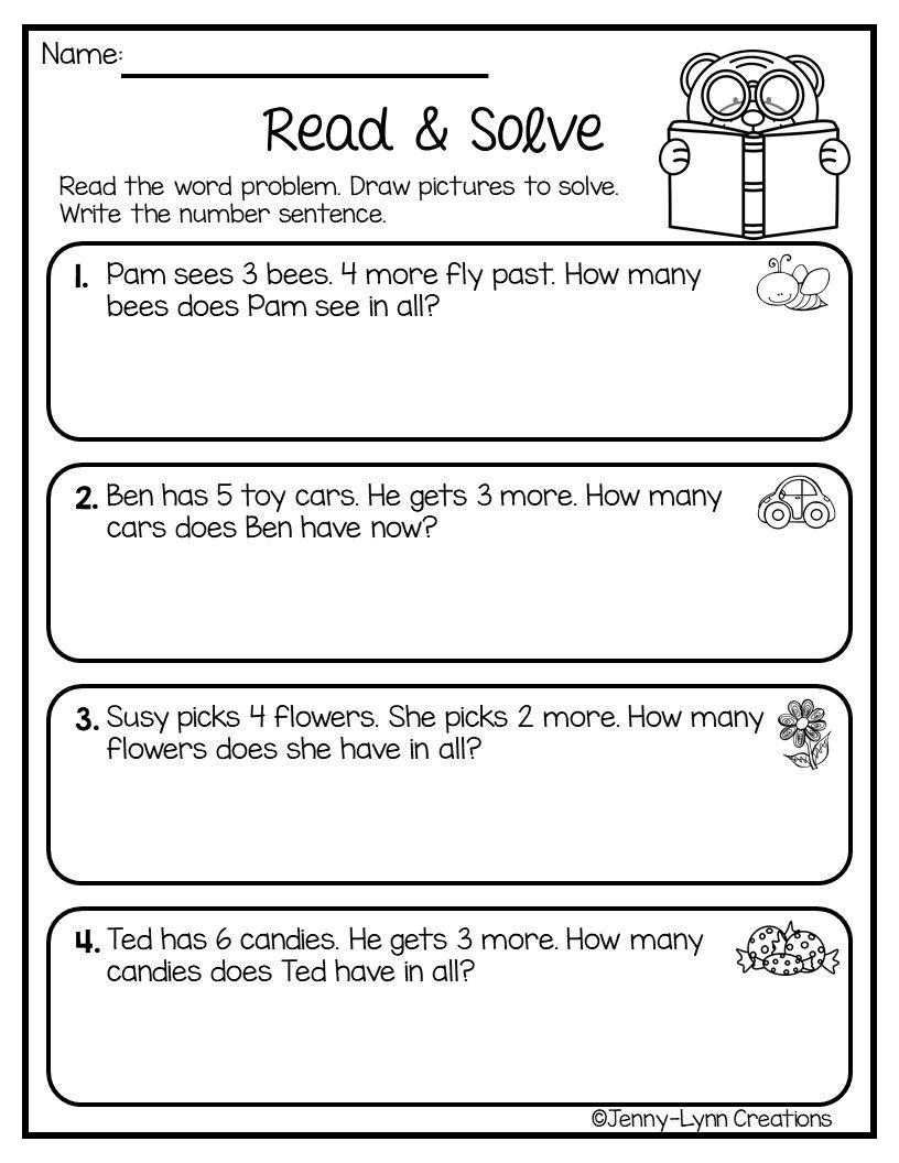 Word Problems Addition Words Word Problem Worksheets Addition Word Problems