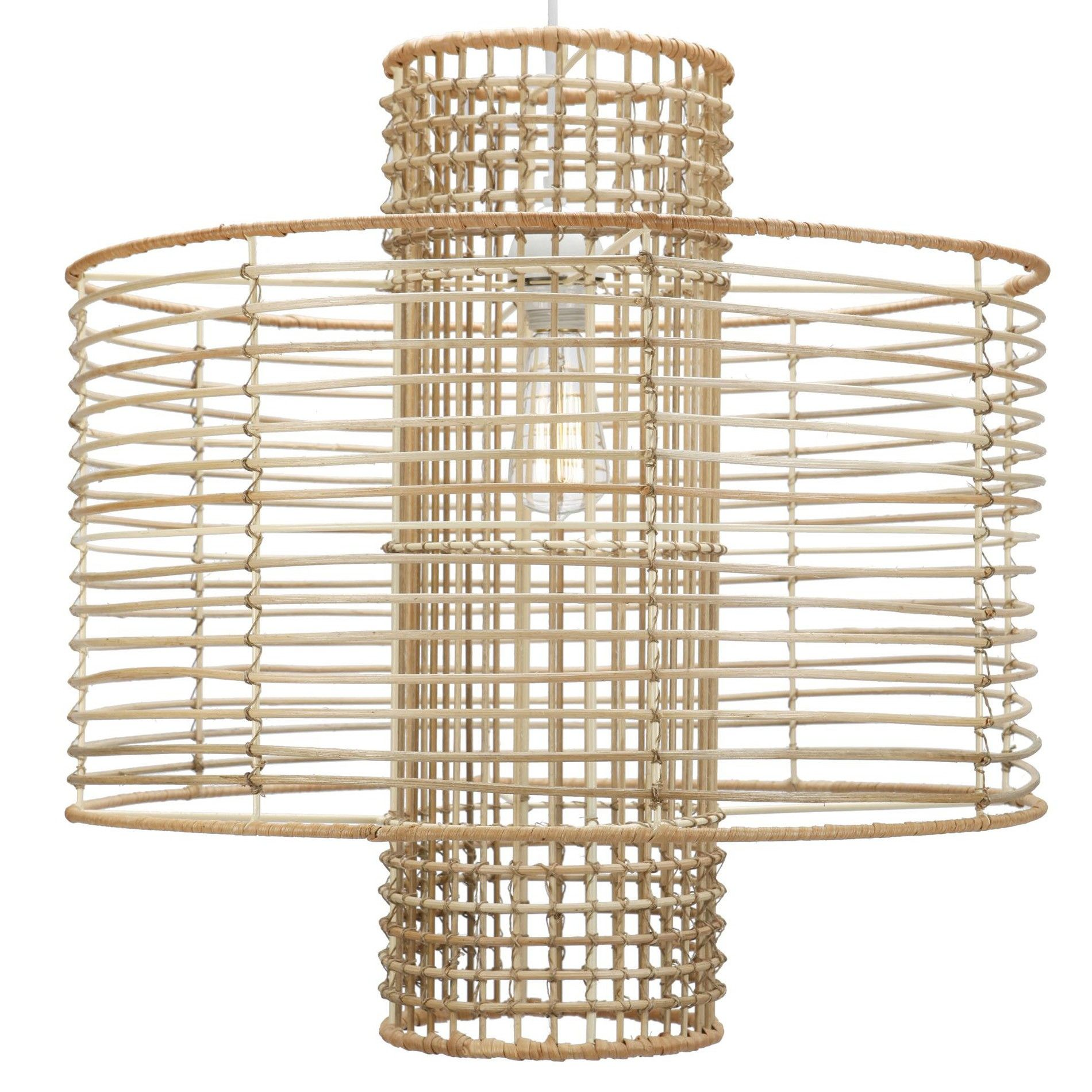 Our Take On Miami Casual Elegance With Natural Materials Rattan Wiring Further Ceiling Lights Wires Along Core Around A Wire Frame Porch Ceilingcasual