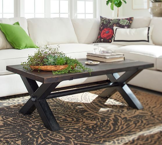Nolan Coffee Table Rooms Decorating Ideas Pinterest Coffee - Pottery barn couch table