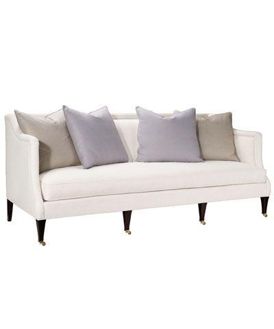 Hickory Chair Southworth Sofa In Dark Walnut Furniture Sofa Furniture Upholstery