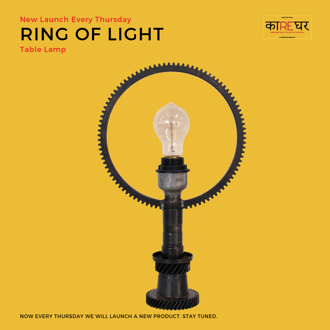 Ring Of Light Handcrafted Lamp Vintage Lamps Light