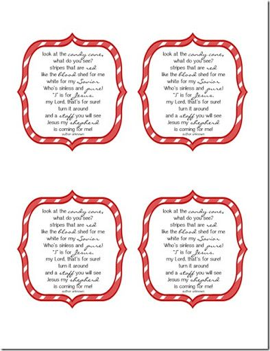 graphic regarding Candy Cane Story Printable titled Scrumptious Obtain: Cost-free Printable Sweet Cane Poem Sunday