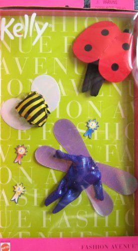 Asst 25754 Features Barbie Kelly Insect Costumes Fashion Avenue