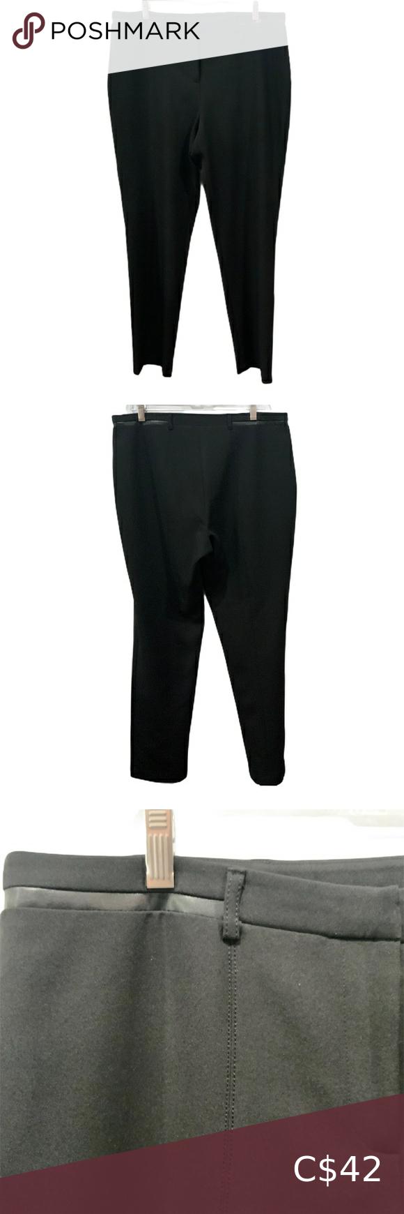 Dress Pant By Vex Collection Black Sz 12 Basic Black Dress Black Dress Pants Trouser Pants Women [ 1740 x 580 Pixel ]