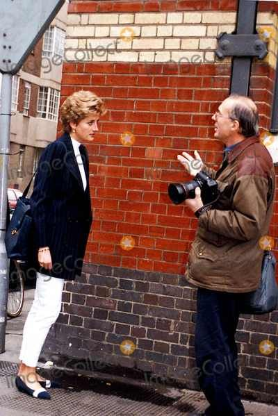 "The ""Pap"" hounded me from day one?: Princess Diana confronts pap."