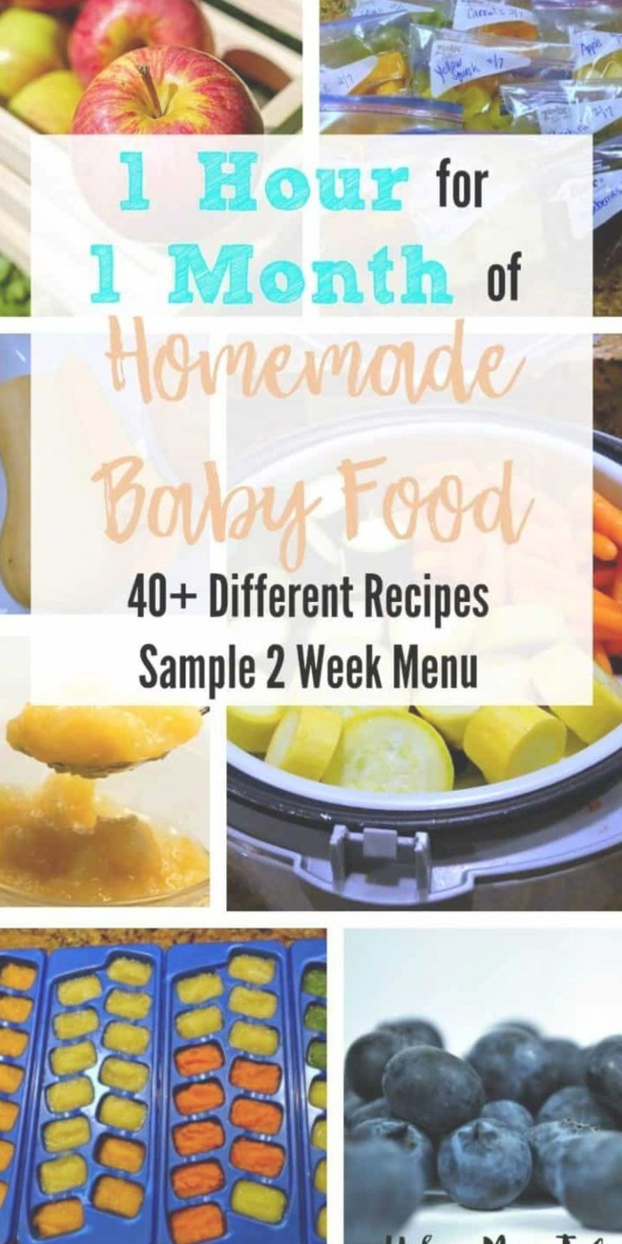 Homemade Baby Food Recipes Stage 1, Month Menu, Sample Menu, Meal Plan #babyfoodrecipesstage1