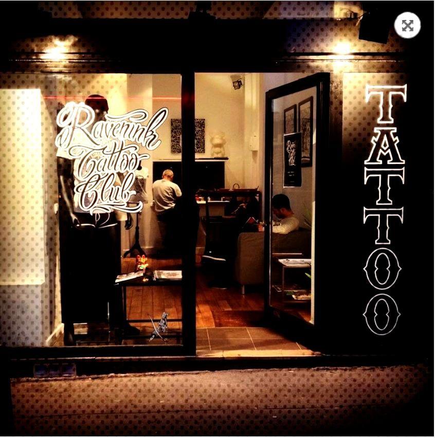 Ravenink Tattoo Club - Tatoueur à Paris - Le meilleur du tatouage