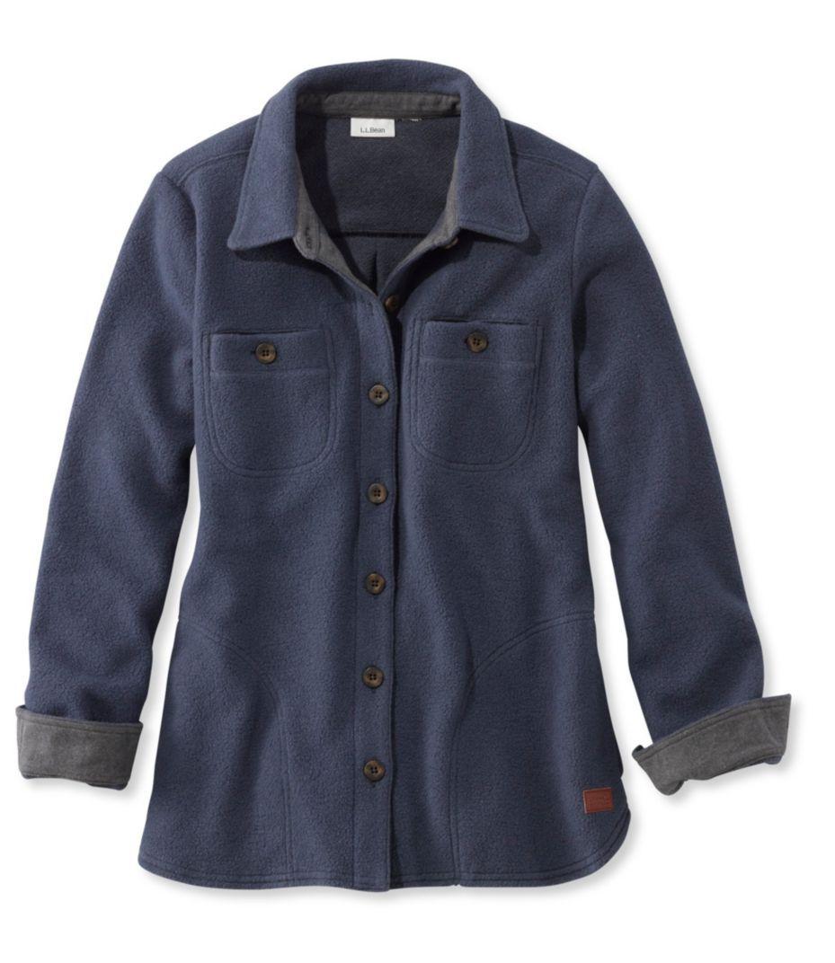 Berber fleece buttonfront shirt jacket cozy for me pinterest