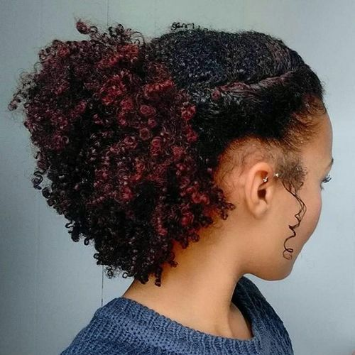 Stunning Prom Hairstyles African American Hair Curly Hair Styles Naturally Curly Hair Styles Hair Styles