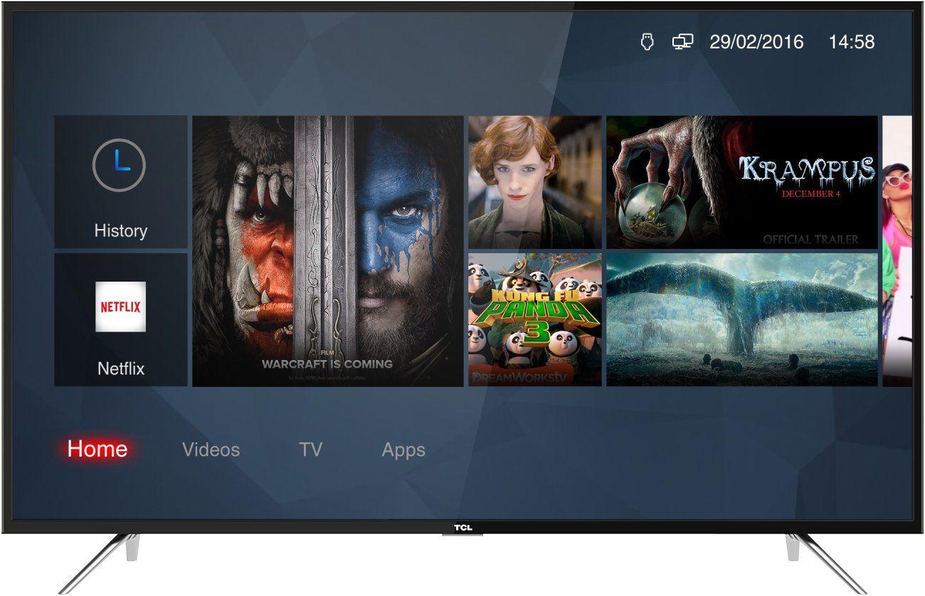Tcl 43dp602 Fernseher 108 Cm 43 Zoll Smart Tv 4k Hdr Triple Tuner Alexa Kompatibel Micro Dimming T Cast In 2020 Fernseher Zoll Ebay