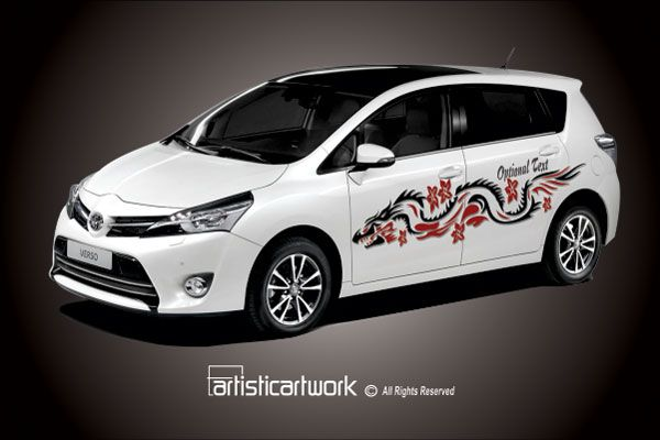 Tribal Dragon Car Decal Tribal Decals Pinterest Car Decal