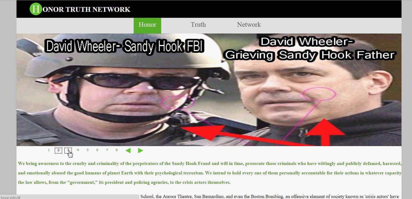 NEW WEBSITE: honr.info 'HONOR TRUTH NETWORK' TO COUNTER honr.com 'HONR N...