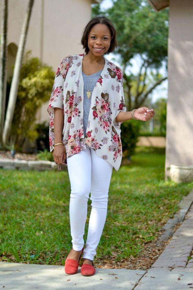 Kimono \u0026 White Jeans