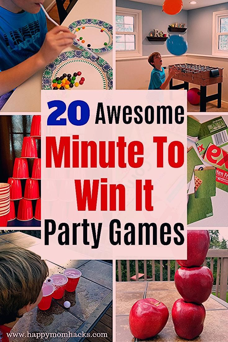 Photo of 20 Easy Minute to Win It Games for Kids | Happy Mom Hacks