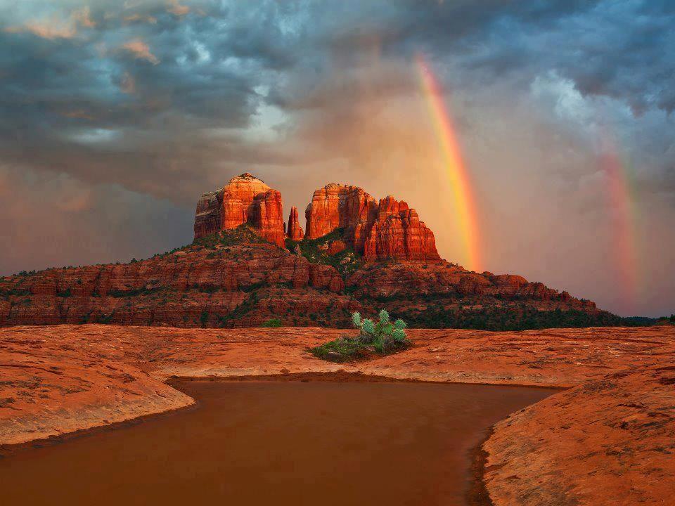 Sedona rainbow - Sedona, Arizona
