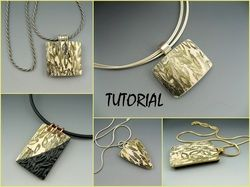 Polymer clay pendant tutorial jewelry tutorials pinterest polymer clay pendant tutorial aloadofball Images