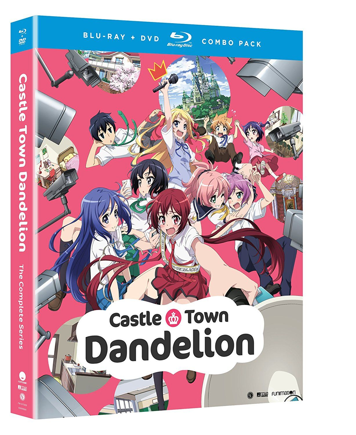 Castle Town Dandelion The Complete Series (Bluray/DVD