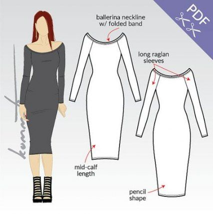 64+  Ideas For Dress Pattern Sewing Bodycon -   9 dress Bodycon clothes ideas