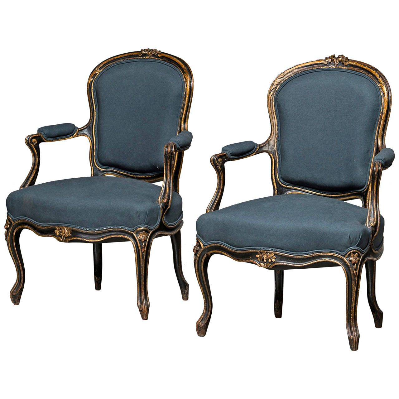 Fauteuils Marly Pair Of French Napoleon Iii Armchairs Ideas For The