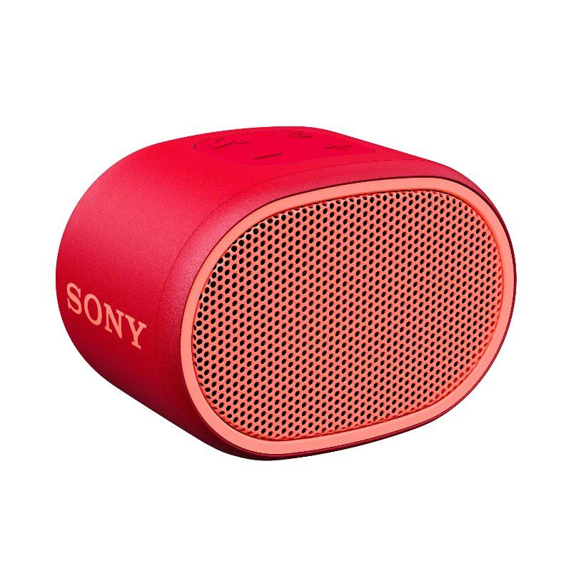Sony Xb01 Extra Bass Portable Bluetooth Speaker Red In 2020